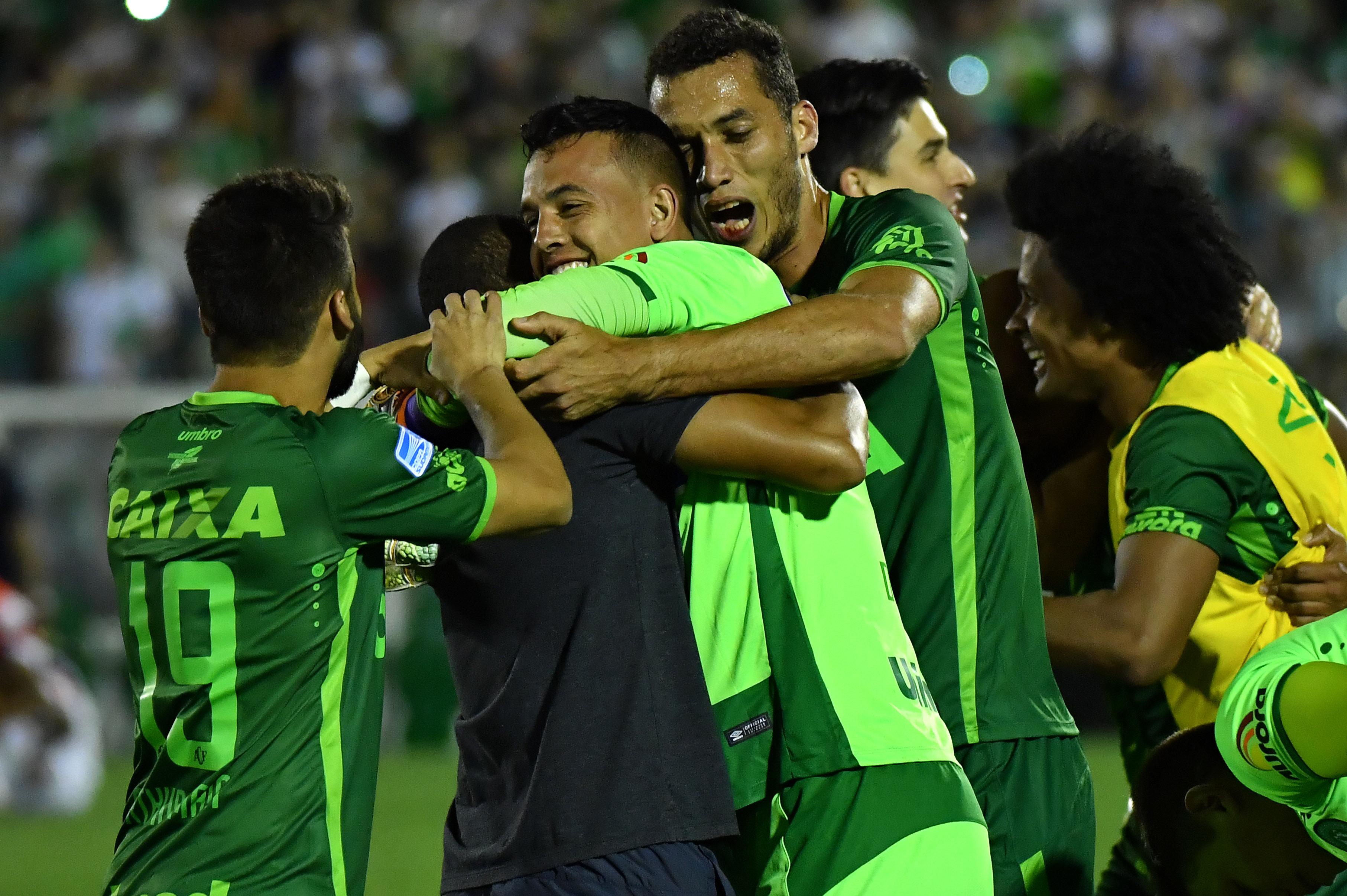 AFP Chapecoense San Lorenzo Sul-Americana 2016