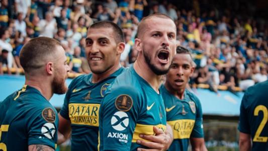 Libertadores Boca Juniors River Plate final Copa CONMEBOL Libertadores 11112018 Dario Benedetto