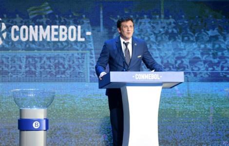 AFP Sorteio Sul-Americana Alejandro Dominguez