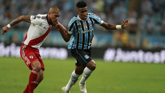 AFP Gremio River Plate Copa CONMEBOL Libertadores 30102018 Jonatan Maidana