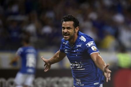 AFP Cruzeiro Huracan Fred Copa Libertadores
