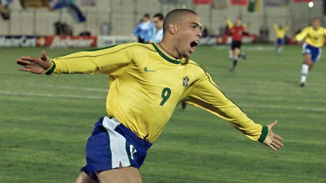 Ronaldo Brazil Copa America 1999