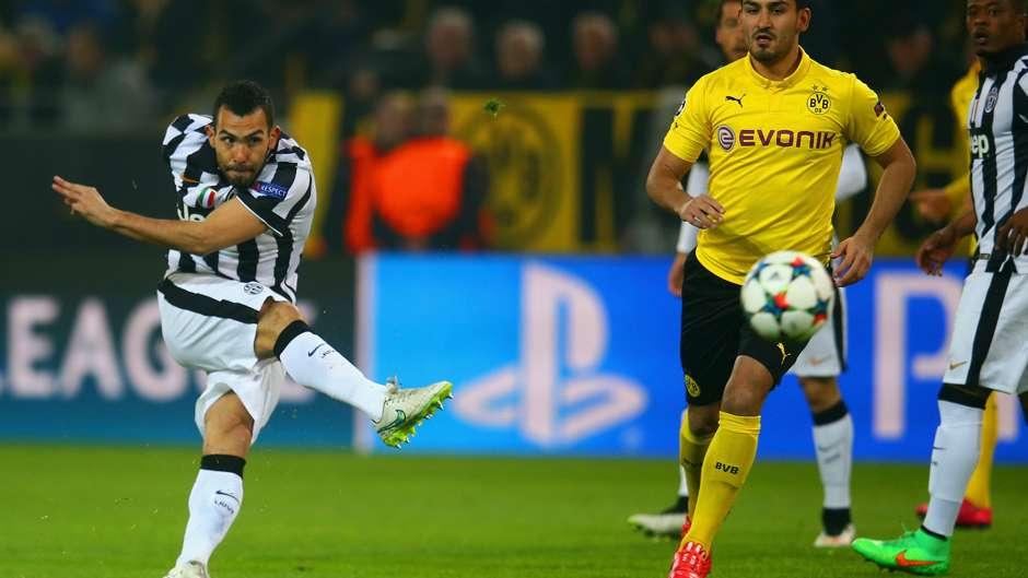 Carlos Dortmund carlos tevez juventus dortmund goal com