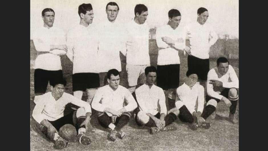 Uruguay campeón Sudamericano 1916