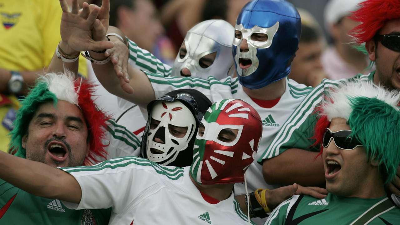 Copa America 2007 Mexico fans