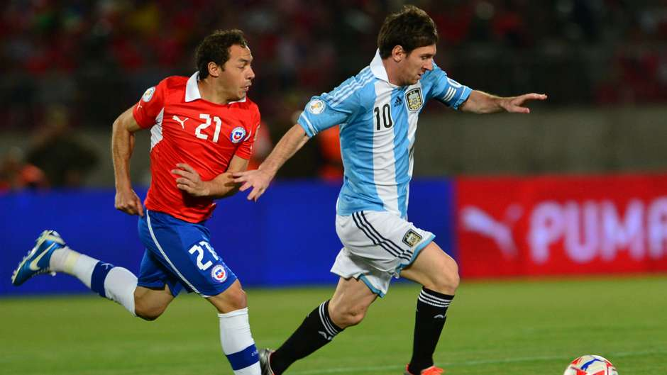 Image result for messi vs chile 2012