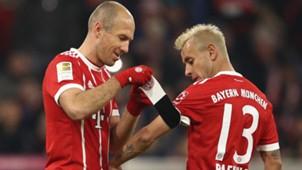 Arjen Robben Rafinha Bayern 18112017