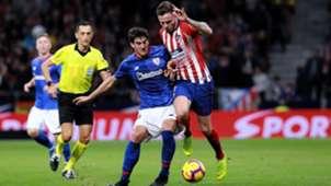 Saul Niguez Mikel San Jose Atletico de Madrid Athletic de Bilbao LaLiga 10112018