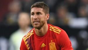 Sergio Ramos Spain 2018