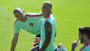 Pepe Portugal training Euro 2016