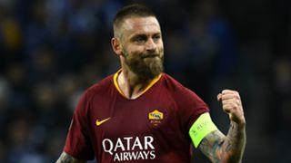 Daniele De Rossi Roma 2018-19
