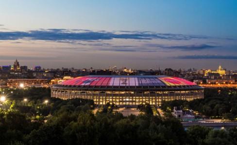 Обновленный стадион Лужники