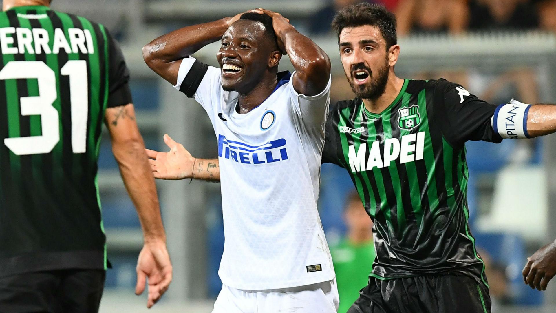 Asamoah Sassuolo Inter Serie A