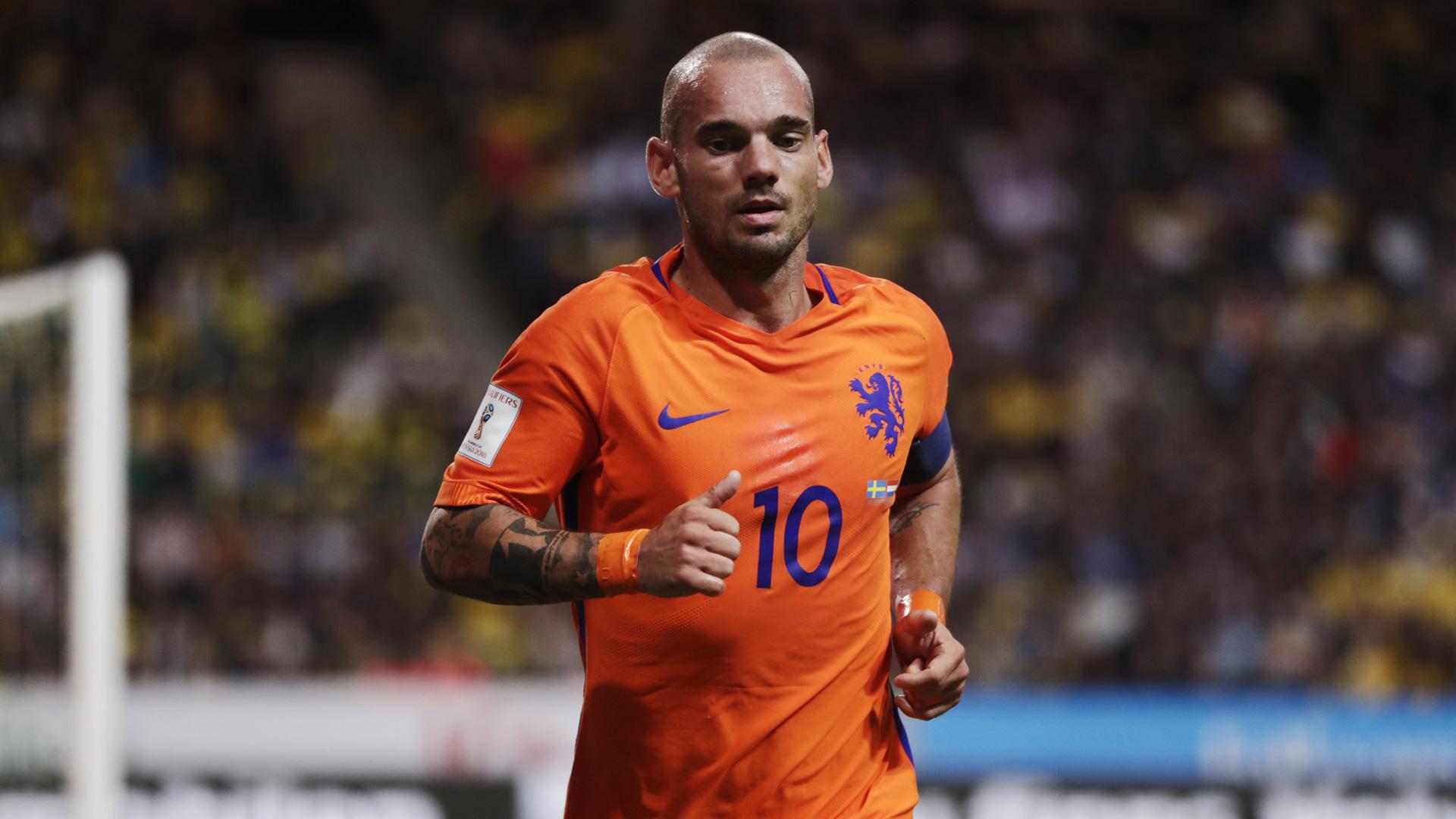 Wesley Sneijder è un nuovo calciatore del Nizza