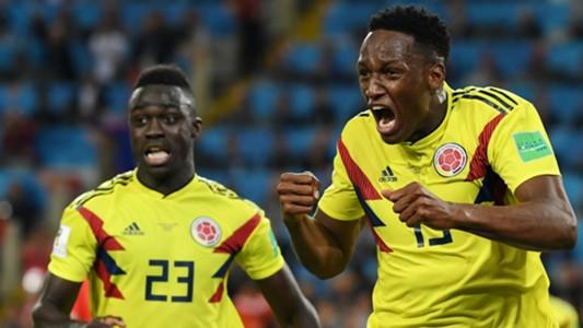 Davinson Sanchez Yerry Mina Colombia England WC Russia 03072018