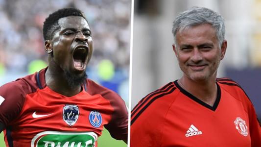 Serge Aurier Jose Mourinho
