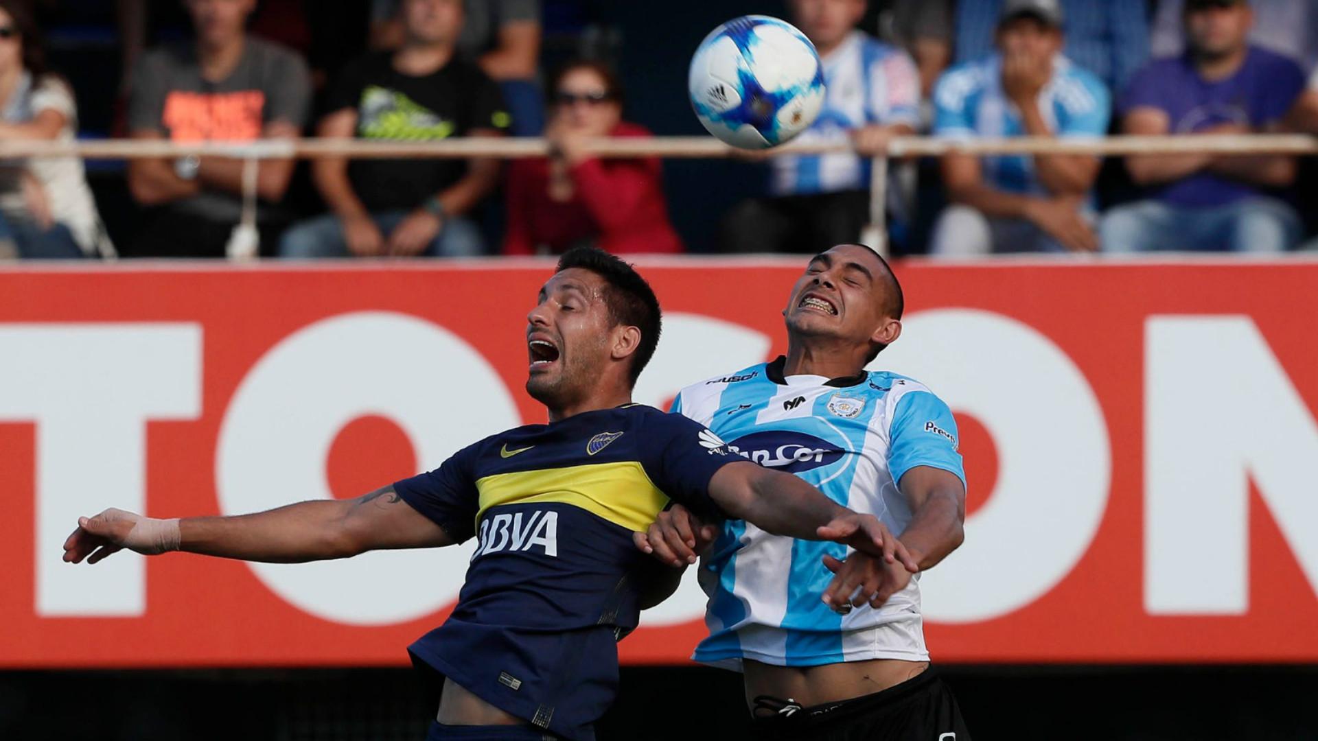 Insaurralde Atletico de Rafaela Boca Campeonato Primera Division Fecha 21 23042017
