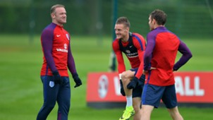 Wayne Rooney Jamie Vardy England 01062016