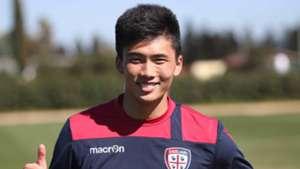 Kwang Song Han Cagliari Serie A