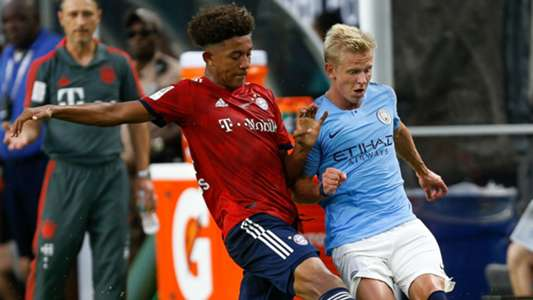 Chris Richards Oleksandr Zinchenko Bayern Munich Manchester City ICC 2018