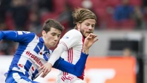 Lasse Schöne, Ajax - Heerenveen, Eredivisie 04162017