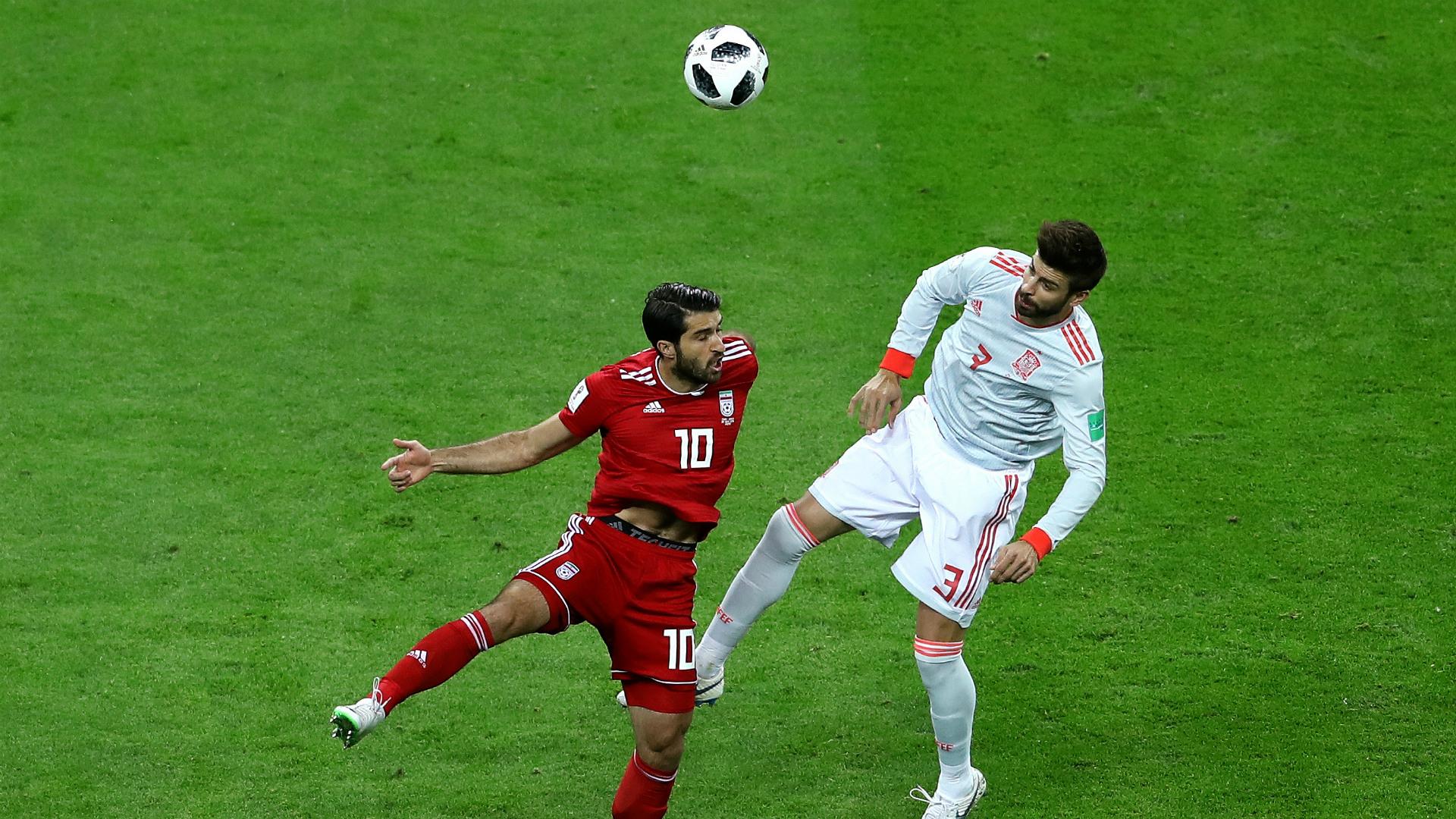 Iran Spain WC 2018