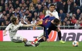 Lionel Messi Luka Modric Casemiro