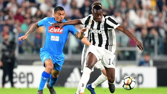Allan Blaise Matuidi Juventus Napoli Serie A