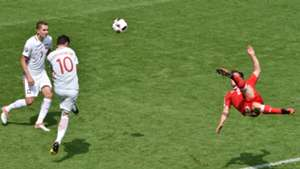 Xherdan Shaqiri goal Switzerland Poland Euro 2016