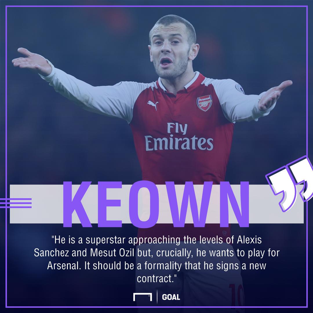 Jack Wilshere superstar like Alexis Sanchez Mesut Ozil Martin Keown