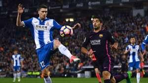 Luis Suárez Aaron Martin Espanyol Barcelona LaLiga 29042017