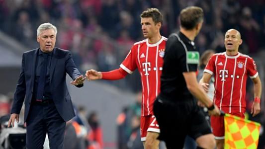 Ancelott Müller Robben
