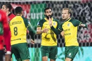 NEC vs Fortuna Sittard -- KNVB Beker