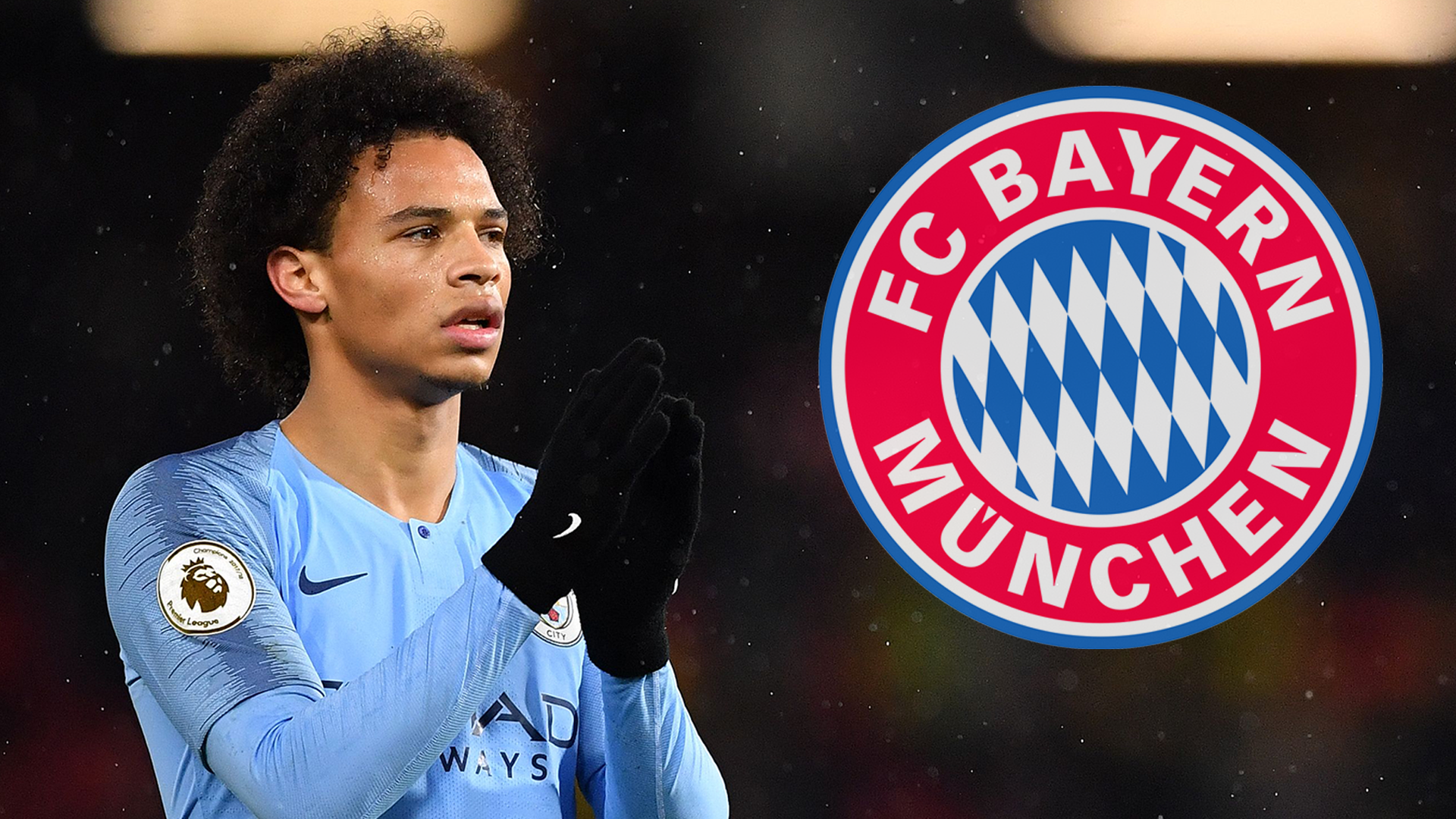 Bayern Munich chief Hoeness confirms move for Man City star Sane