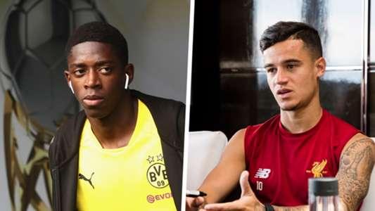 Ousmane Dembele Philippe Coutinho GFX