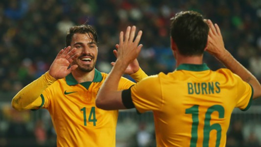James Troisi Germany v Australia Friendly 25032015