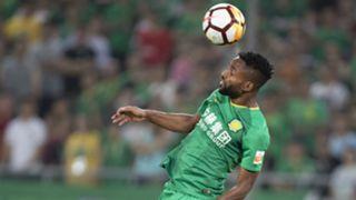 Cedric Bakambu, Beijing Guoan vs Tianjin Quanjian, Chinese Super League, July 22, 2018