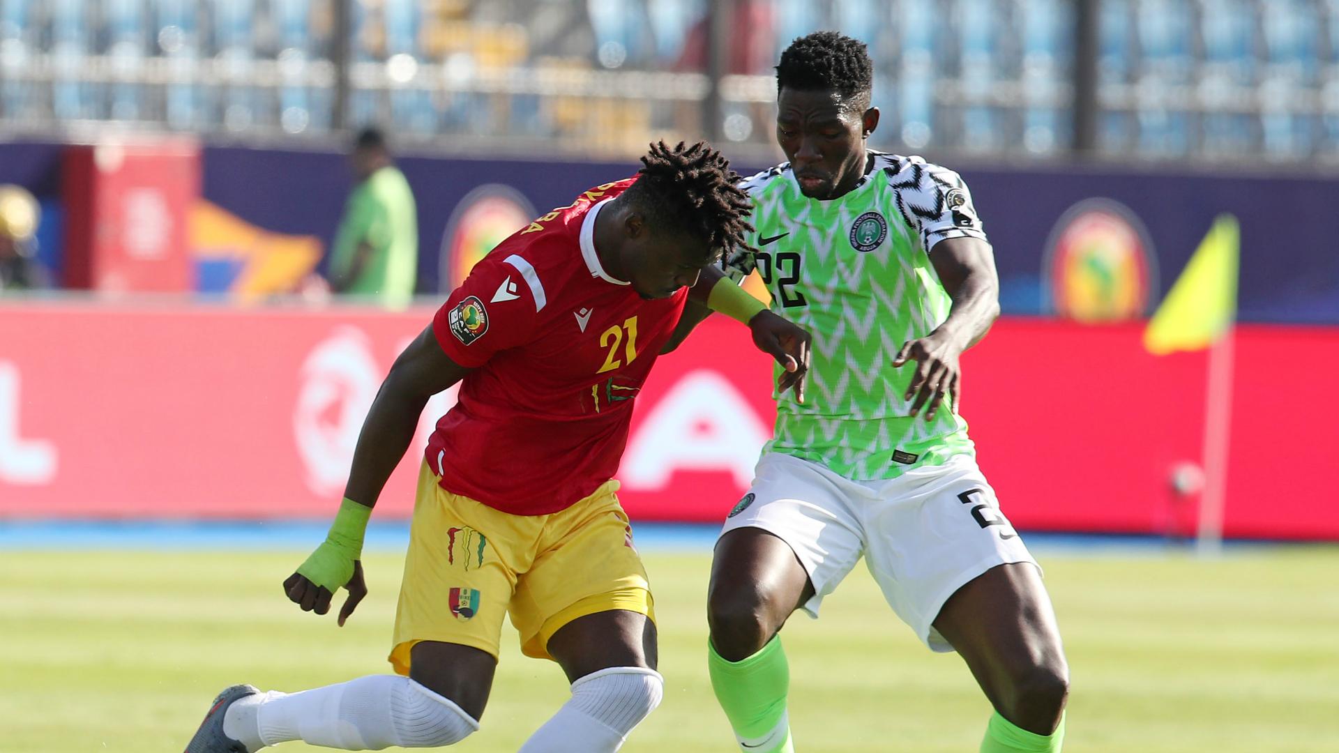 Kenneth Omeruo - Nigeria vs. Guinea