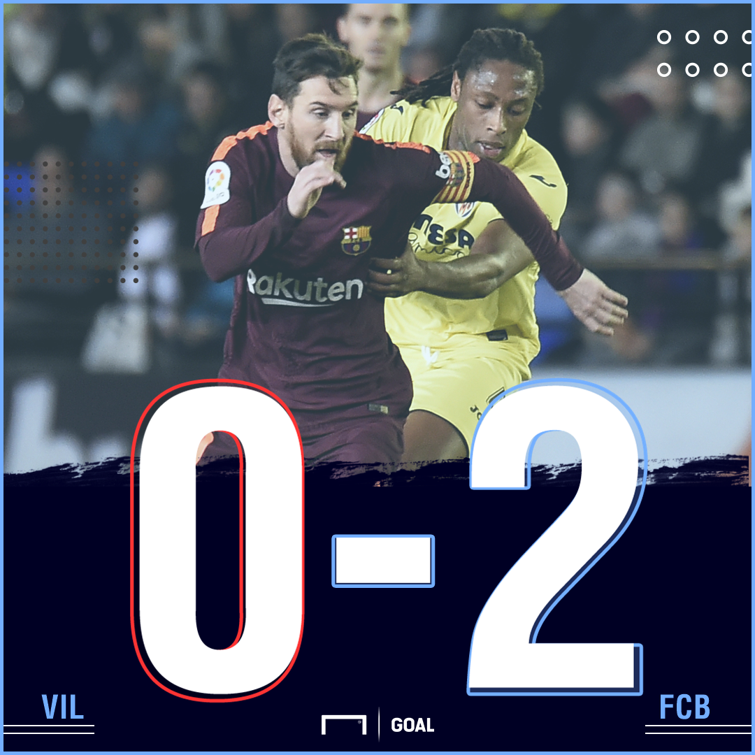 Villarreal Barca score