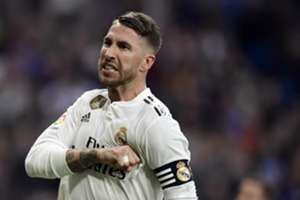 RAMOS REAL MADRID VALLADOLID LALIGA