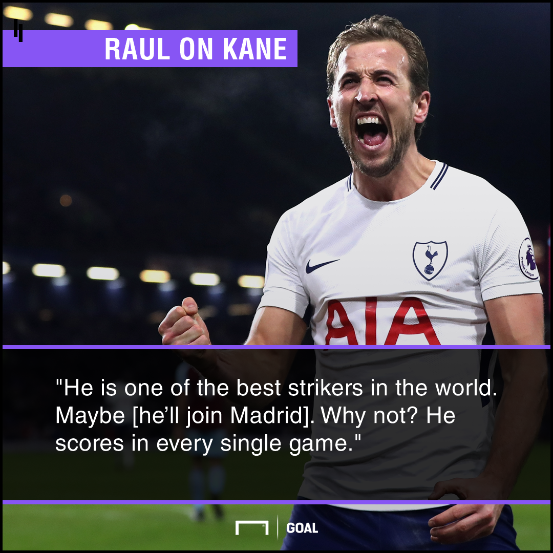 Harry Kane to Real Madrid Raul