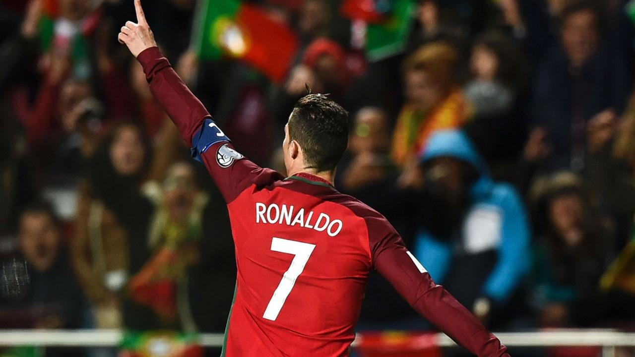 Cristiano Ronaldo Portugal vs. Hungary