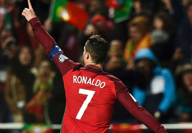 Portugal star Ronaldo moves into top 10 international goalscorers