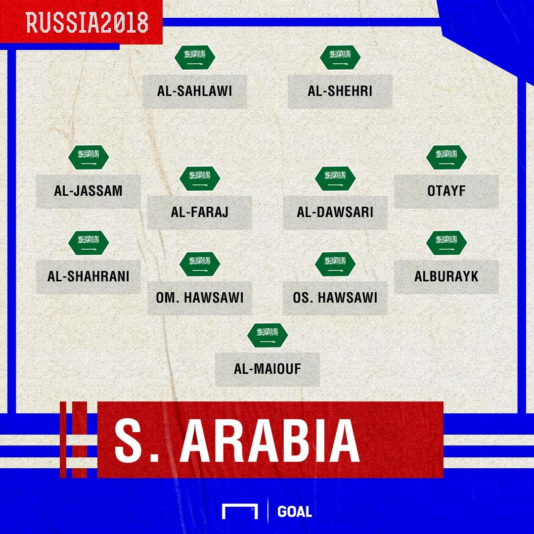 Arab Saudi XI