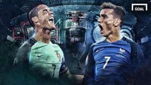 GFX Portugal - Prancis   Portugal - France   Euro 2016 Final