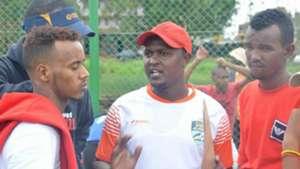 Thika United coach John Njogu.