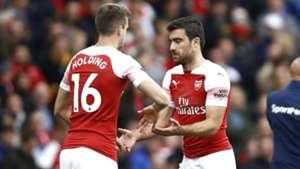 Sokratis Rob Holding Arsenal
