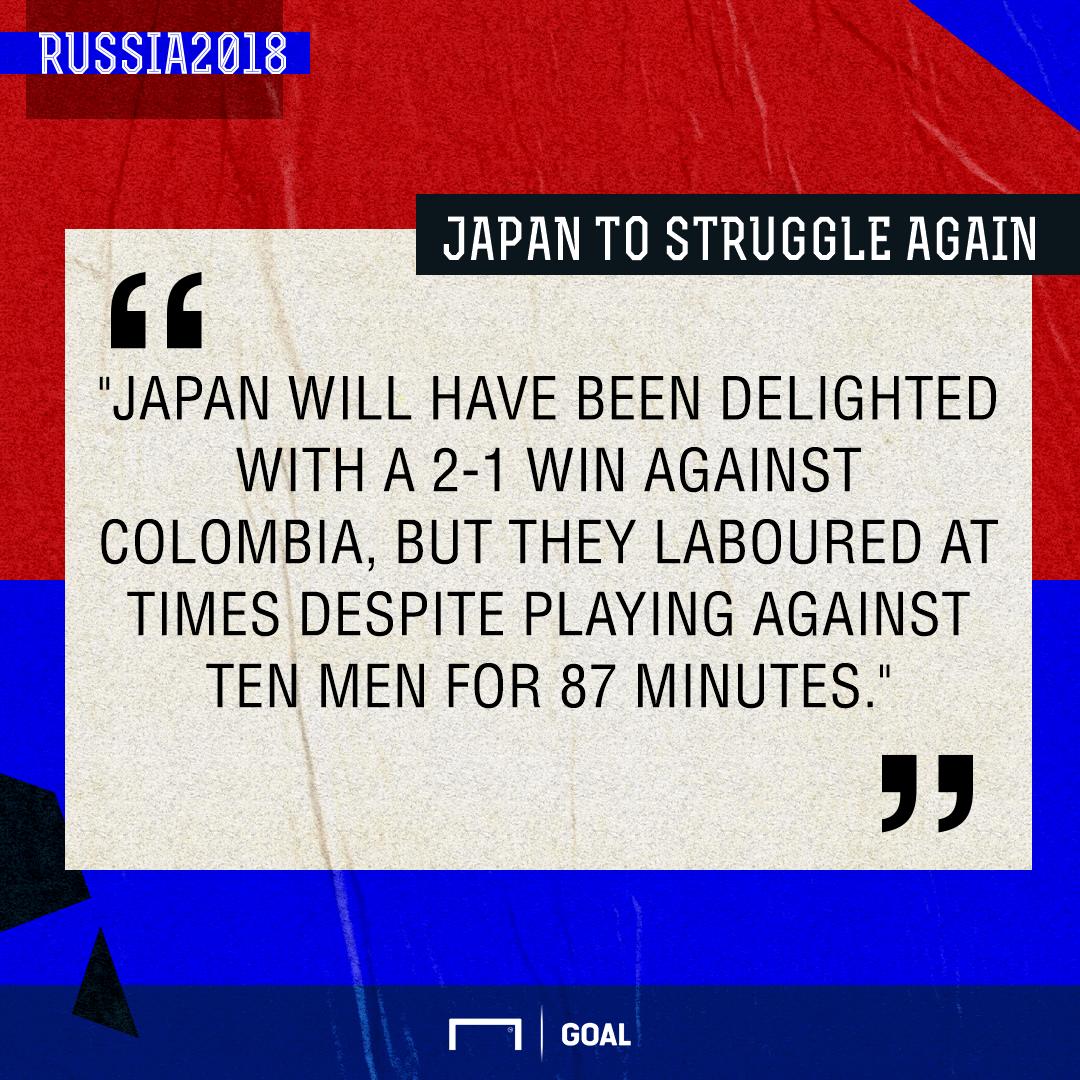 Japan Senegal graphic