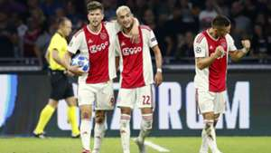Klaas-Jan Huntelaar, Hakim Ziyech, Ajax - Dinamo Kiev 08222018