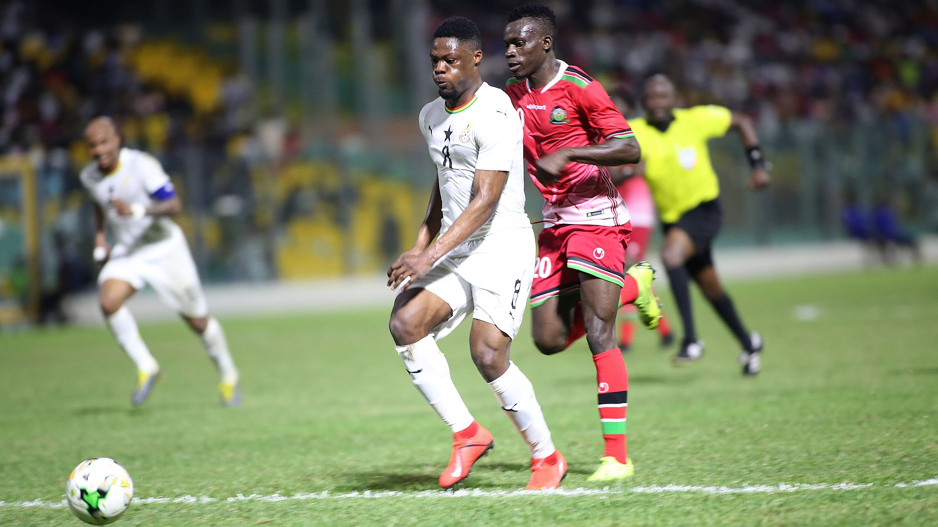 Ghana player Caleb Ekuban